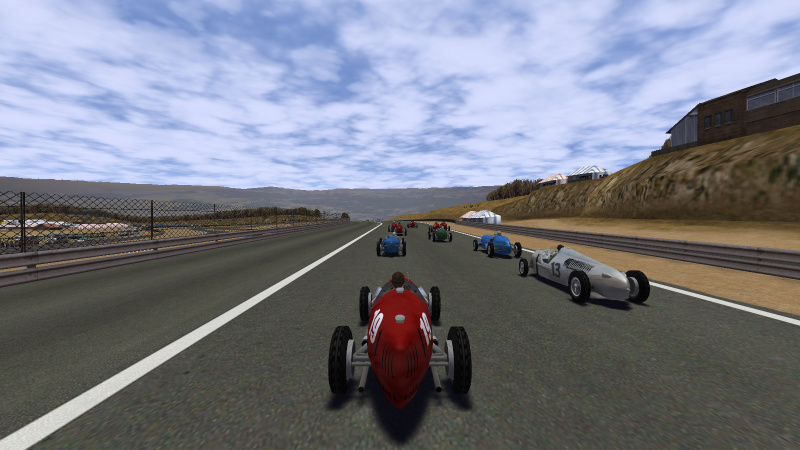 Speed Dreams in-game screenshot